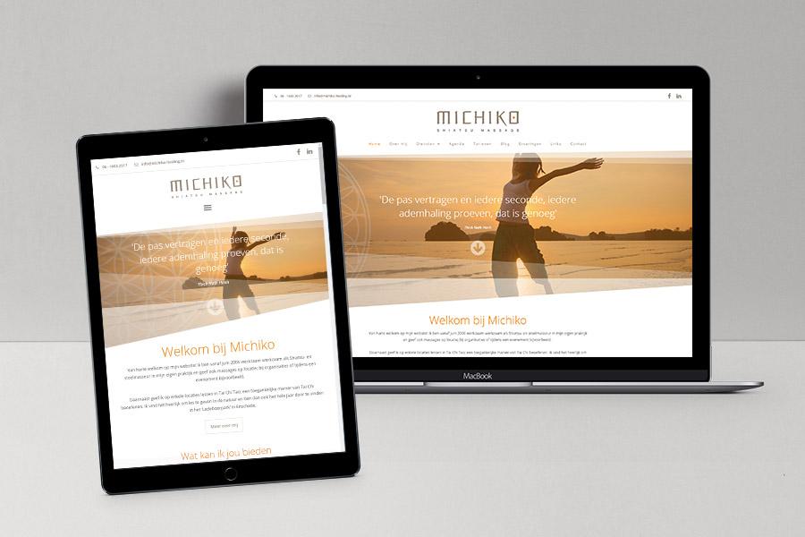 Website Michiko Healing