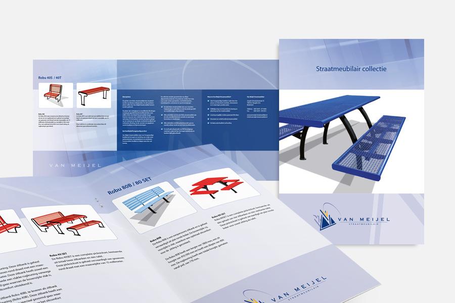 Van Meijel Straatmeubilair brochure