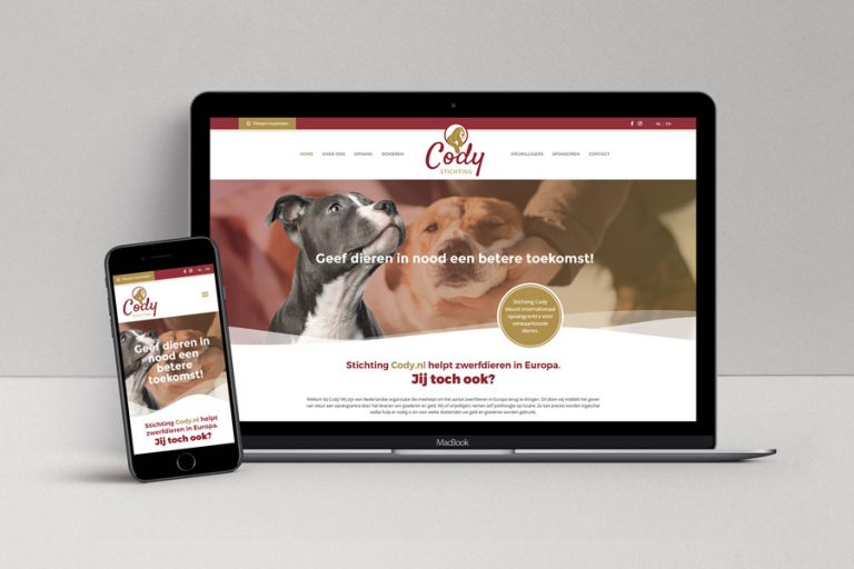 Website Stichting Cody