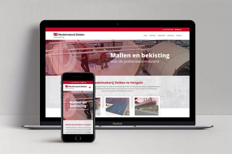 Website ontwerp Modelmakerij Delden