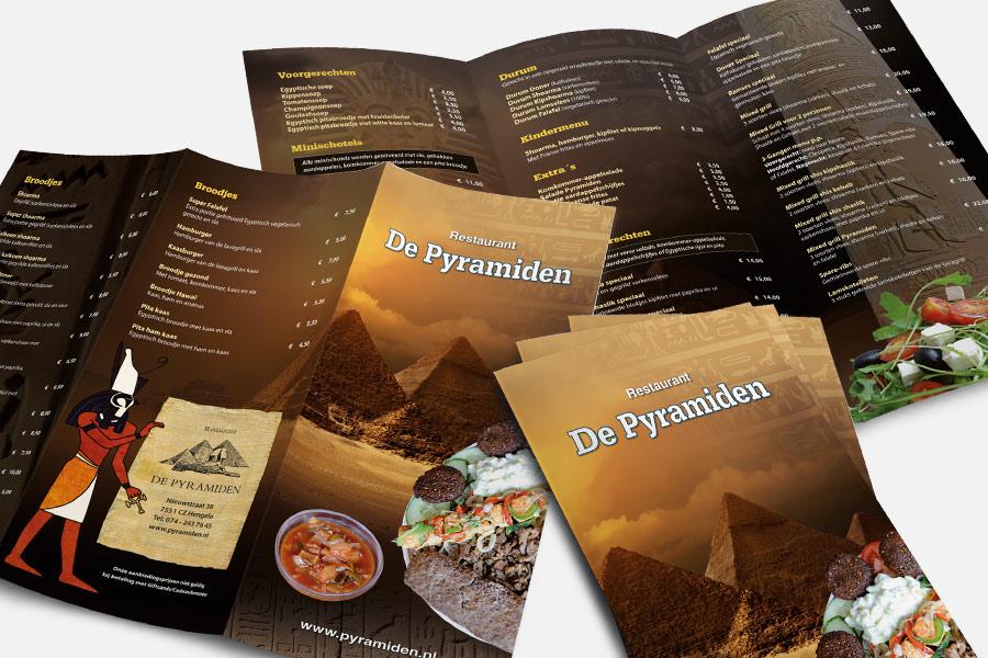 3-luik restaurant De Pyramiden