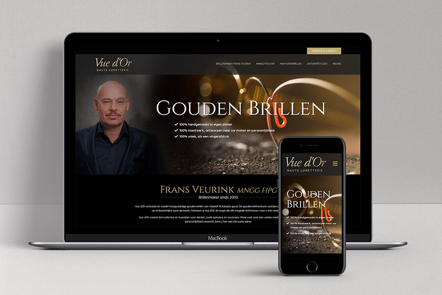 Website ontwerp Vue d'Or