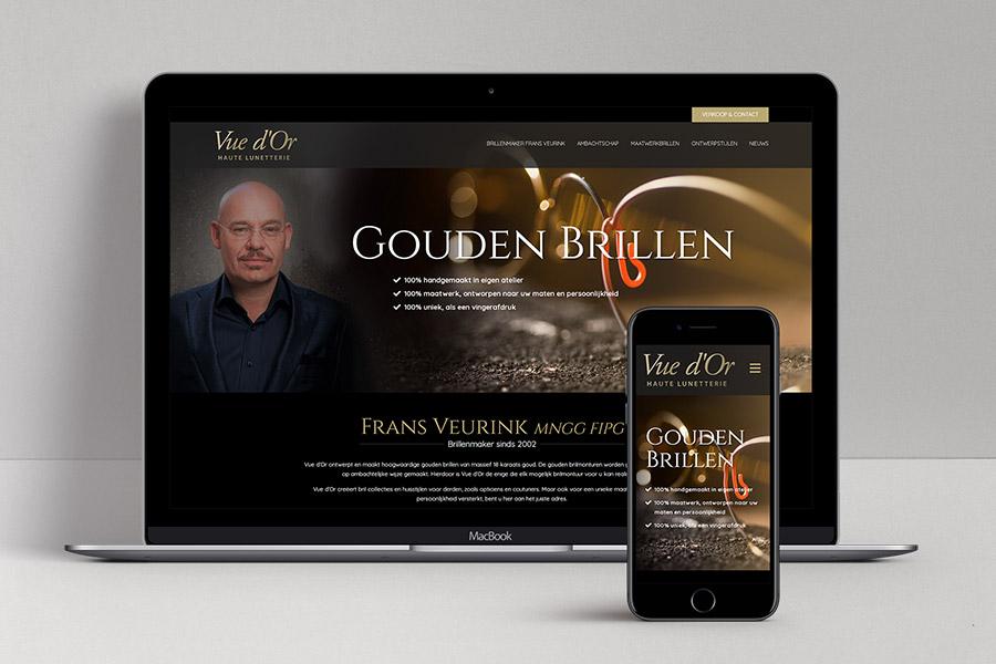 Website ontwerp Vue d'Or