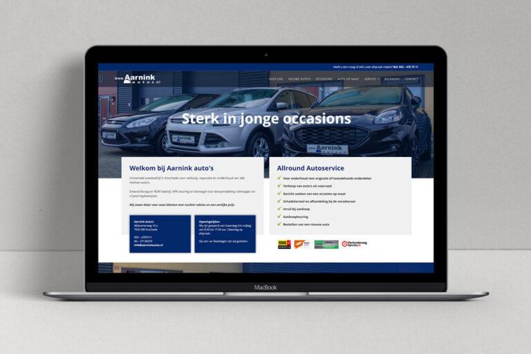 Website Aarnink auto's