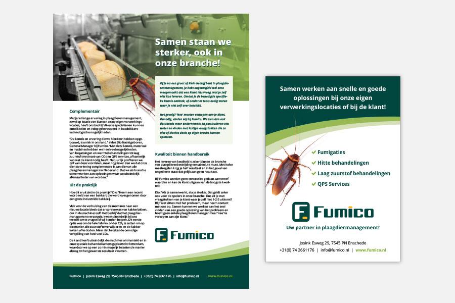 Fumico advertorial / advertentie