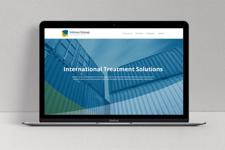 Website ontwerp Intreso Group