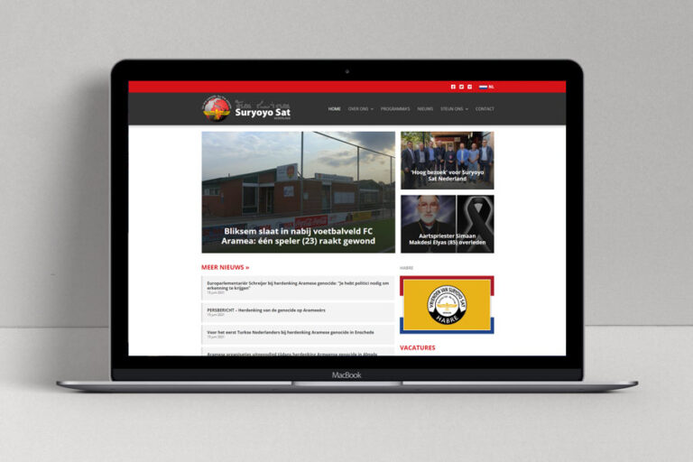 Website Suryoyo Sat Nederland